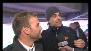 Robbie williams and gary barlow interview