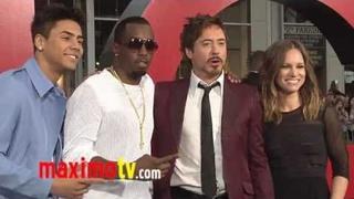 "Robert Downey Jr. and Sean Combs at ""The Hangover Part II"" Premiere"