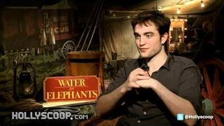 Robert Pattinson; Working With Reese Witherspoon In 'Water for Elephants'