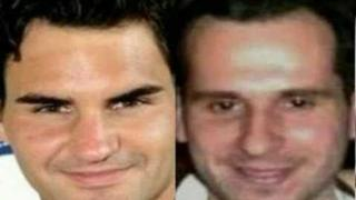Roger Federer's Twin!