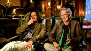ROLLING STONES KEITH RICHARDS & JOHNNY DEPP HAVE STRANGE FATHER & SON RELATIONSHIP
