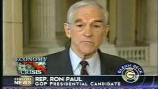 Ron Paul on the Glen Beck Program (PT.2of2) 4-1-08