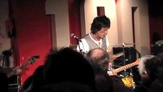 Ronnie Wood, Mick Taylor and Stephen Dale Petit at the 100 Club