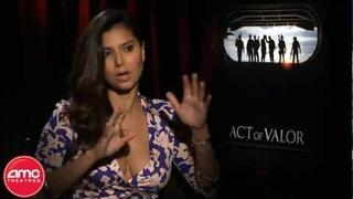 """Roselyn Sanchez Talks """"Act Of Valor"""" With AMC"""