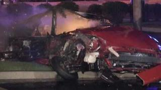 Rt53=Major Accident-Car Burst Into Flames in Semi Crash-Bolingbrook,il