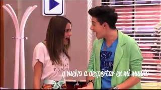 Ruggero Pasquarelli y Martina Stoessel cantan En Mi Mundo - Violetta