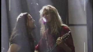 Russell Allen and Arjen Lucassen singing The Boxer