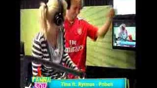 Rytmus and Tina in Fun Radio live - PRIBEH !!!