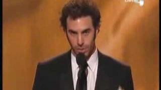 Sacha Baron Cohen Acceptance Speech At Golden Globes