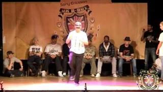 Salah vs Baby Bang - Popping Day One - BBoy Championships 2010