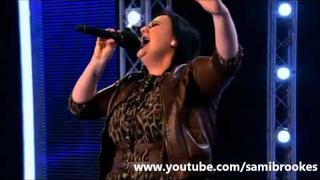 Sami Brookes - One Moment In Time (Whitney Houston) X Factor 2011 First Audition HQ/HD