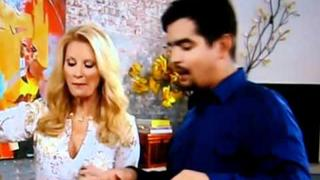 Sandra Lee/Aaron Sanchez Thanksgiving Punch Bowl
