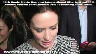 Santa Barbara Film Fest 2010 Emily Blunt
