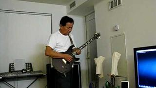 Santana Europa (cover) with PRS paul Allender guitar