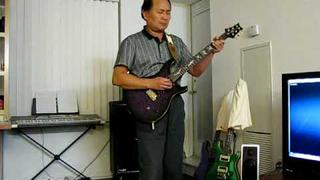 Santana samba pati (cover) with PRS Paul allender guitar