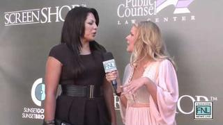 Sara Ramirez-Los Angeles Fashion Week Spring/Summer 2012