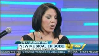 Sara Ramirez on Good Morning America 3/30/11