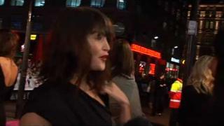 Sarah Harding is talk of St Trinians 2 premiere