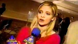 Sarah Michelle Gellar And David Boreanaz On Access Hollywood