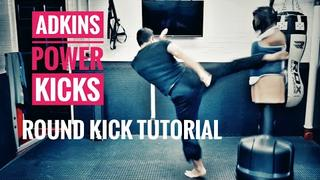 Scott Adkins Round Kick Tutorial