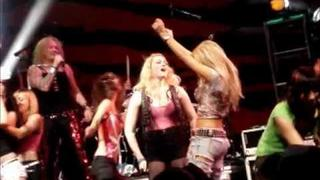 SEBASTIAN BACH & STEEL PANTHER do JOURNEY SKID ROW LED ZEP THE HOUSE OF BLUES SUNSET STRIP 5/30/2011