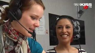 Senna moderiert die Kiss FM Morningshow ''Knallwach''