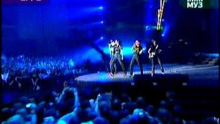 Serebro - Never Be Good LIVE @ MUZawards 2009
