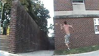 Shane Barbus Kutztown / Morrisville Freerunning and Parkour 2010