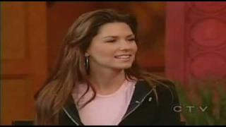 shania twain in Regis and Kelly