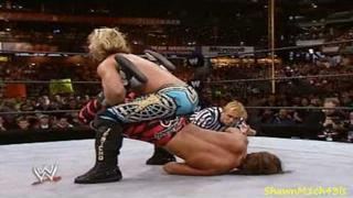 Shawn Michaels Vs Chris Jericho Highlights - HD Wrestlemania 19
