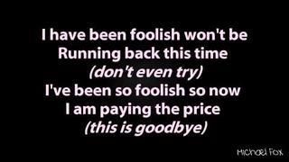 Shayne Ward - Foolish (Obsession) [Lyrics on Screen] M'Fox