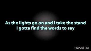 Shayne Ward - Waiting In The Wings (Obsession) [Lyrics on Screen] M'Fox