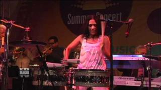 "Sheila E - ""Glamorous Life"" Performance/Interview at Baldwin Hills Crenshaw Plaza"