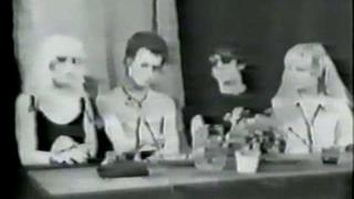 Sid Vicious:Cable TV interview part 2 New york 1978