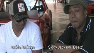 """Siggy """"Dealz""""Jackson, Jackie Jackson, and Aziatic in Las Vegas"""