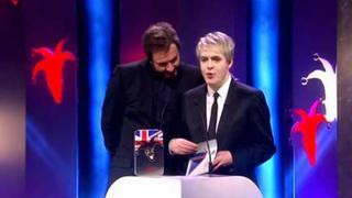 Simon LeBon & Nick Rhodes at British Comedy Awards