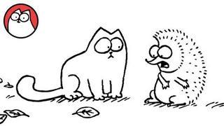Simon's Cat in 'Cat Chat'