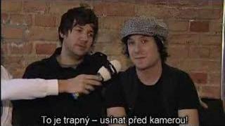 Simple Plan Interwiev for Ocko.cz Prague 1/2