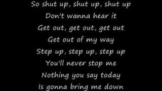 Simple Plan: Shut Up (lyrics)