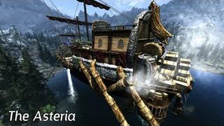 Skyrim Mods - The Asteria (Dwemer Airship)