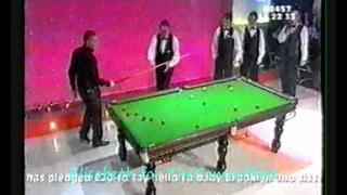 Snooker with Nicky Byrne - Children In Need 2001 (funny)