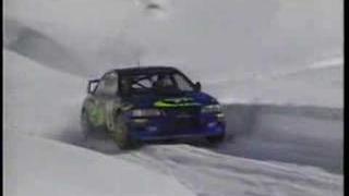 Snow Test in Monte Carlo Colin Mcrae Subaru Impreza WRC 98