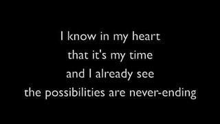 Sonic Unleashed: Endless Possibilities Lyrics