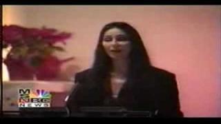 Sonny's funeral, Cher speak