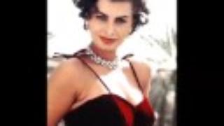 Sophia Loren Montage and Slideshow