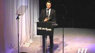 Speech At Young Hollywood Awards