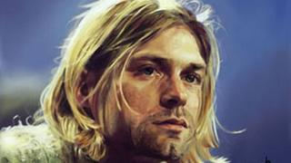 Speed Painting Kurt Cobain/ smells like teen spirit symphonic cover by williams shamir