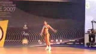 Sport aerobics F.I.S.A.F. 2007 WC Denisa Baresova IW