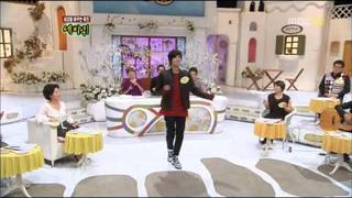 SS501 Park Jung Min - Dancing to Snow Prince [11.12.10]