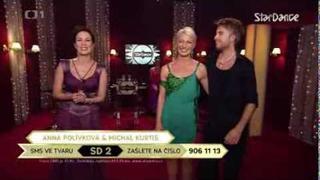 StarDance- Anna Polívková a Michal Kurtiš -jive